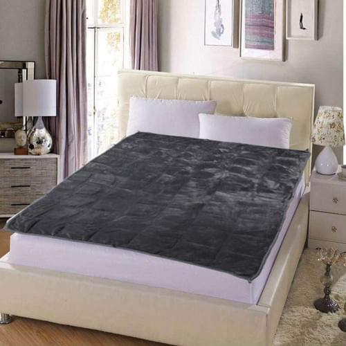"MAXTID Adults Weighted Blanket 30lbs 80""x87"" Luxury King Size | Dark Grey"