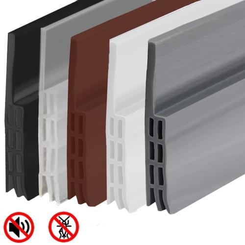 """MAXTID Door Stops of Rubber Under Door Draft Stopper Seal 39"""" High Performance Door Seal Gap Blocker"""