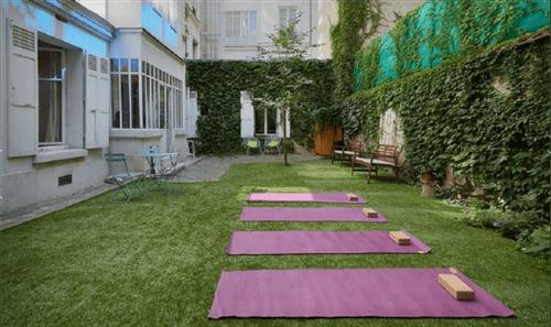 Tapis de Yoga Chin Mudra