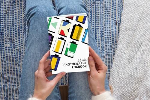 35mm film photography logbook