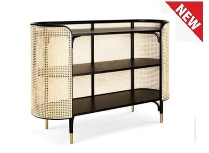 RICOZ- Rattan Side Table