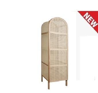RICOZ- Rattan wardrobe