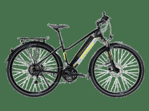 Vélo de loisirs e-verso e-going mixte equipé Gitane