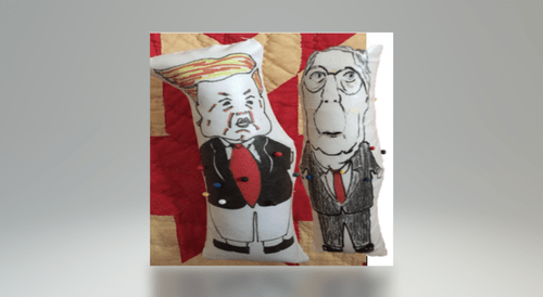 Set of Trump and McConnell Dolls - SOLD OUT