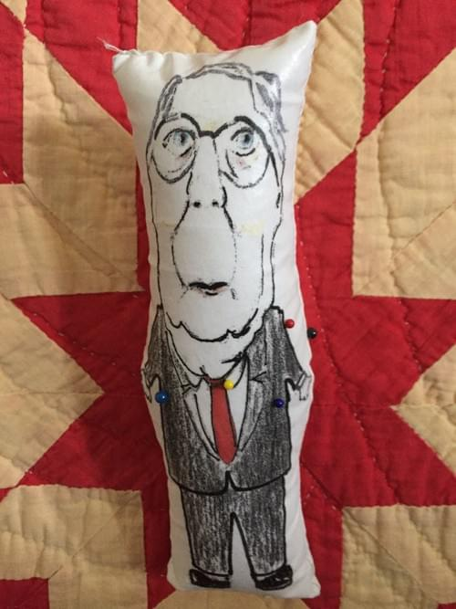 Mitch McConnell VooDoo Doll - SOLD OUT