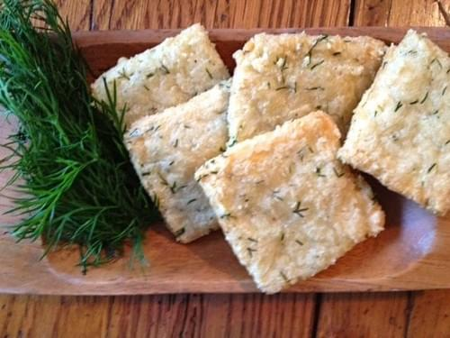almond rosemary crackers