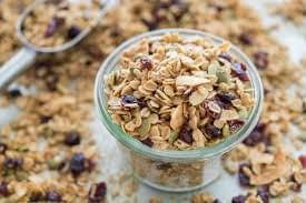 raisins granola