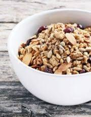 sweet & sour granola