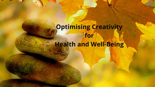 Optimising Creativity for Well-Being: Self Paced Online Program