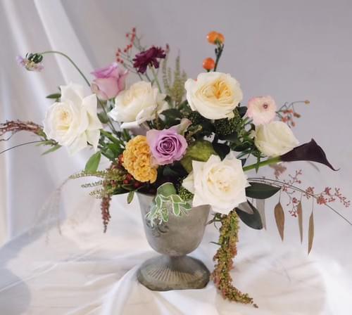Asymmetrical Flower Arrangement