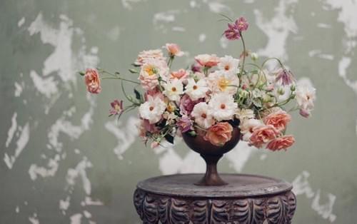 Vintage Vase Arrangement