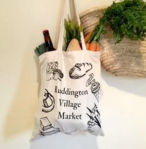 Ruddington Village Market Tote Bag