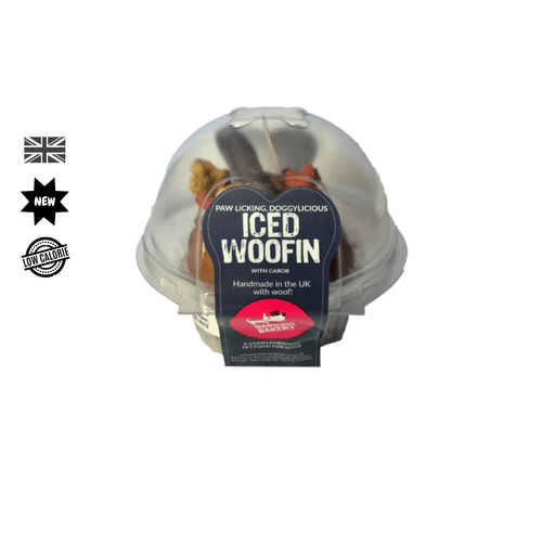 Carob Iced Vanilla Woofin