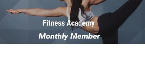 Fitness Academy Monthly Member Plan