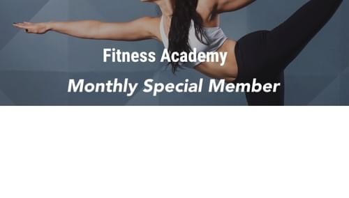 Fitness Academy Monthly Special Member Plan