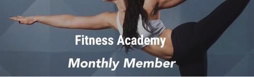 【月額購入】Fitness Academy Monthly Member Plan