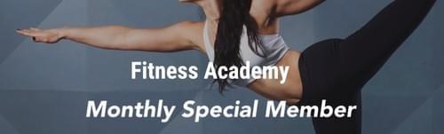 【月額購入】Fitness Academy Monthly Special Member Plan