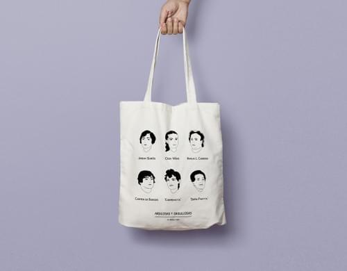 Tote Bag 'Ardilosas y orgullosas'