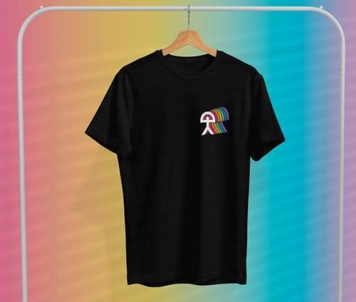 Camiseta 'Almería Arcoíris'