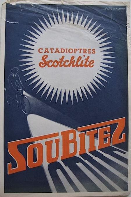 Réflecteur 35 Scotchlite neuf