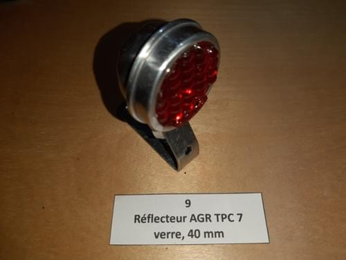 """Réflecteur AGR TPC 7 """"bon état"""" (N°9)"""