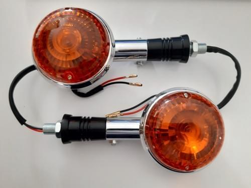Paire de clignotants type Yamaha Virago (neuf)
