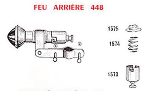 "Lanterne LUXOR 448 ""héritage"" (N°22)"