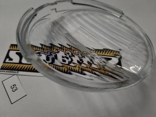 Vitre de phare SOUBITEZ diamètre 100 mm NOS (N°53)