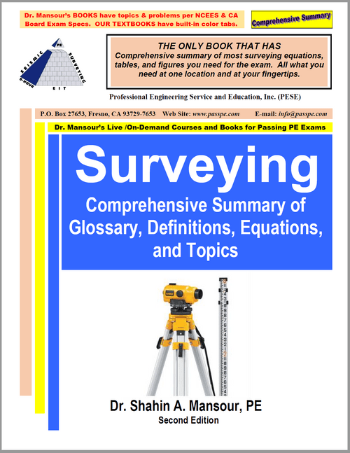 Comprehensive Summary of Surveying 2nd Edition