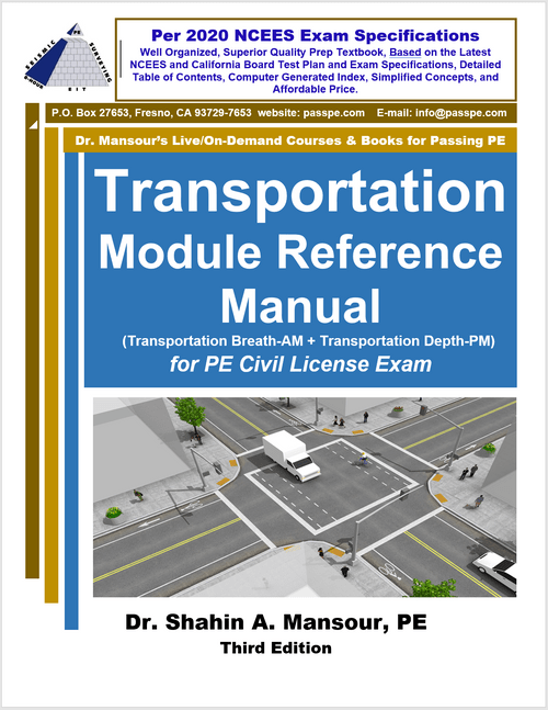 Transportation Module Reference Manual, 3rd Edition