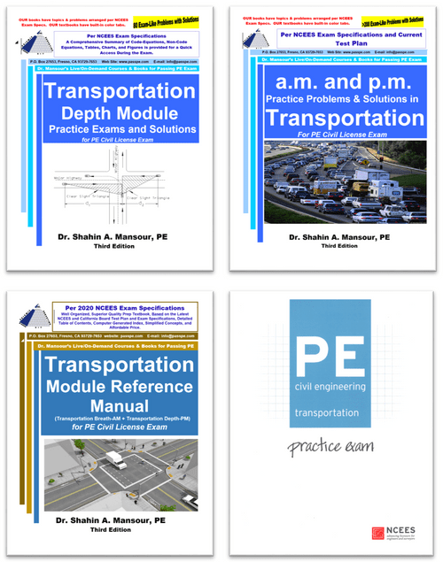 Transportation PM Module of PE Civil Review