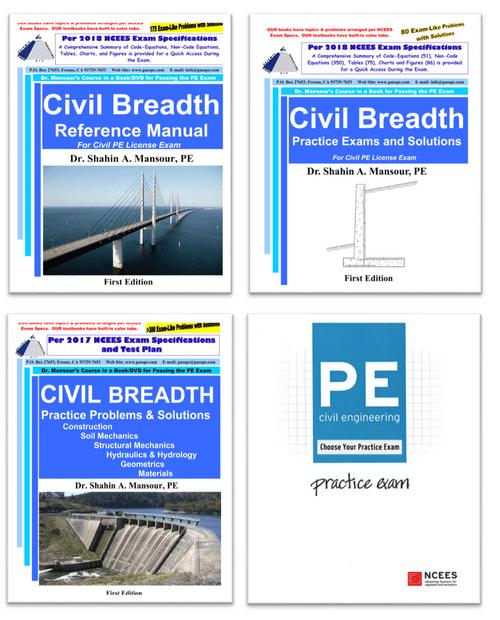 PE Civil Breadth (AM) Comprehensive Prep Course with Workshop – CEAM