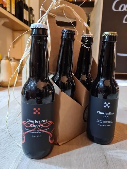4 bières Charlesroy