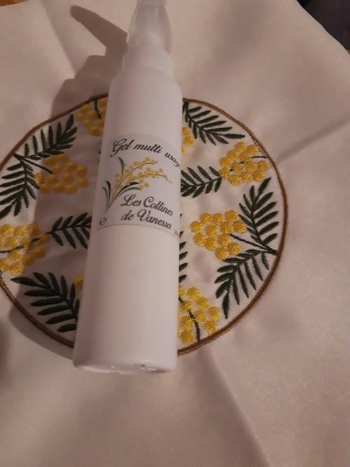Gel Douche à l'absolue de Mimosa