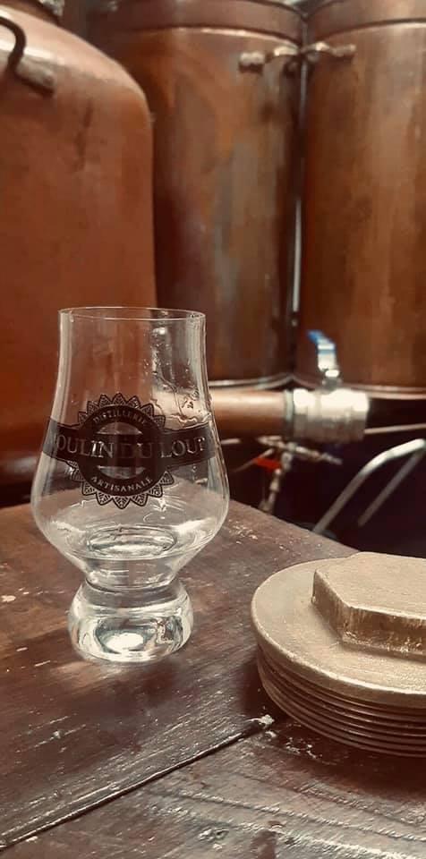 Visite de la distillerie Moulin du Loup