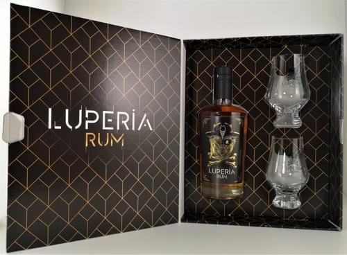 Pack *Luperia Rum* + 2 verres
