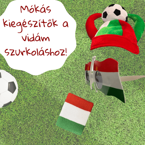 Magyarország napszemüveg + csuklópánt + cilinder