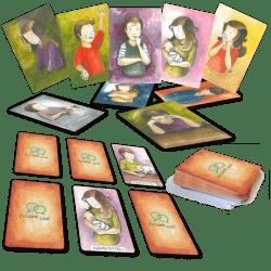 Érzelmi kártyák és Memory