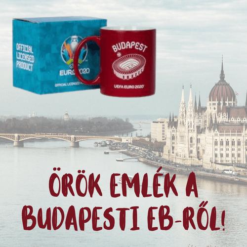 "UEFA EURO2020 ""Budapest"" Bögre"
