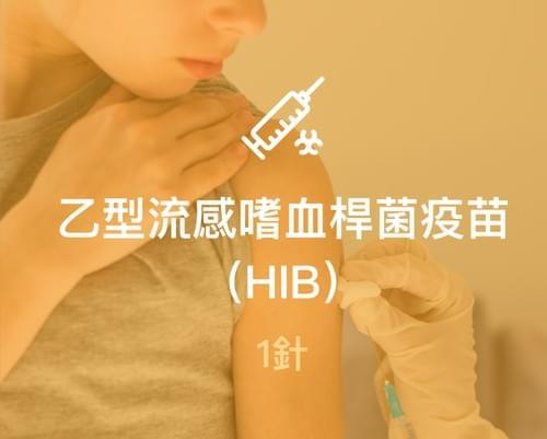乙型流感嗜血桿菌(HIB)疫苗1針