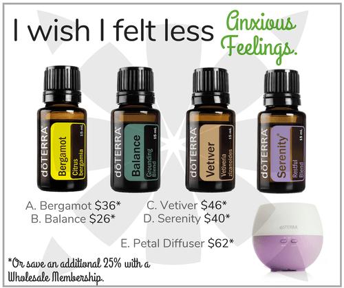 I wish I felt less Anxious Feelings.