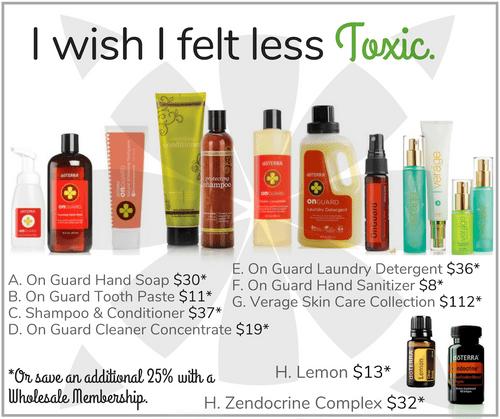 I wish I felt less Toxic.
