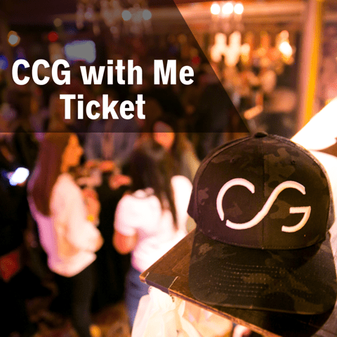 CCG WITH ME TICKET