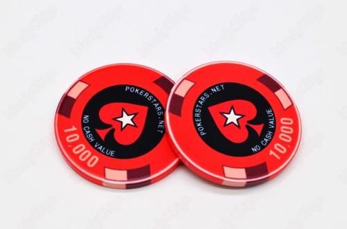 500 PCA ceramic poker chips free shipping