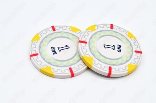 500 mint ceramic poker chips free shipping