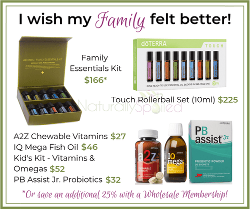 I wish my Family felt better!