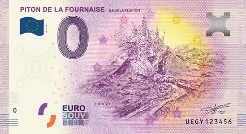 Billet Anniversary 2020 Piton de La Fournaise    - Ile de La Réunion