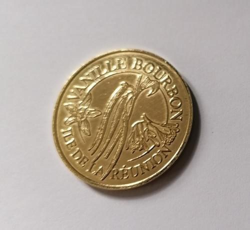 Jeton Médaille Touristique / Pièce à collectionner Dodo Vanille Bourbon de l'Ile de La Réunion