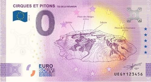 Billet CIRQUES ET PITONS - Ile de La Réunion