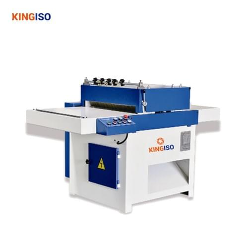 High quality woodworking machine MJ1445 Multi-blade trimming saw for wood